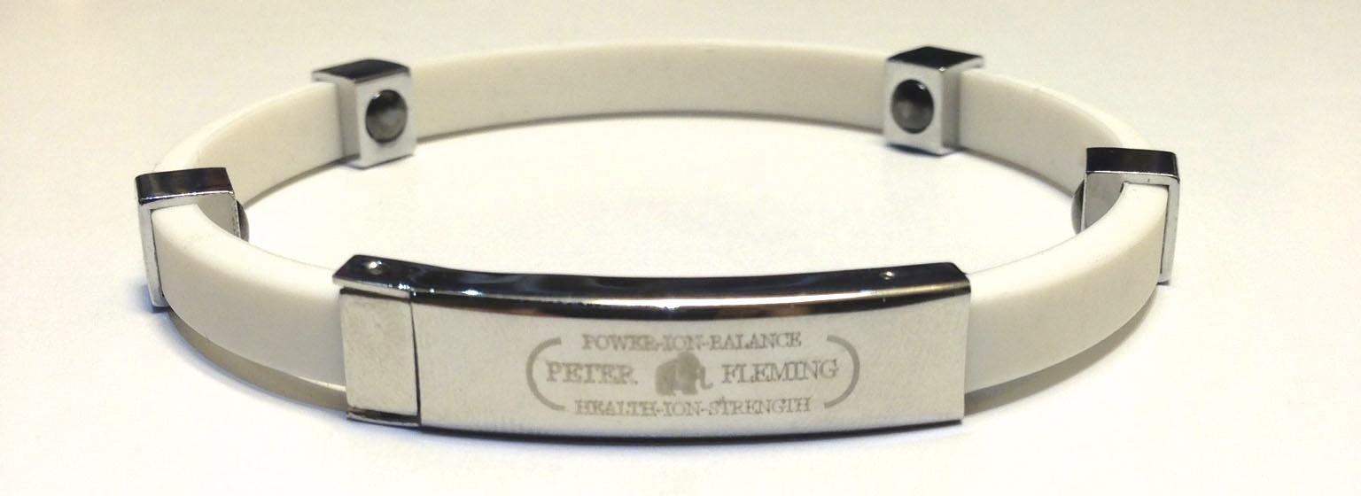 bracelet magnetique et ionique silicone xml